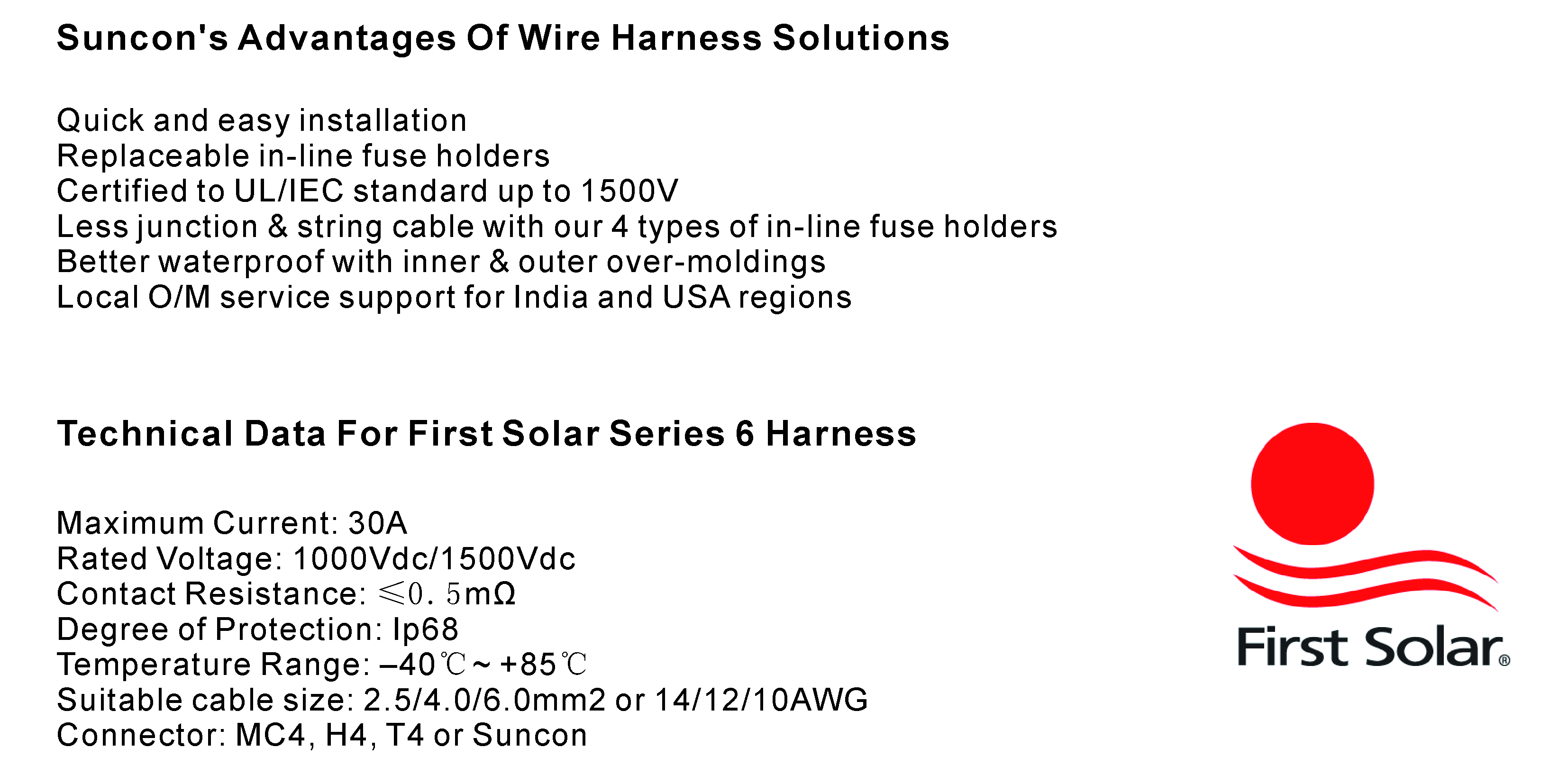 Wire Harness Suncon Pv Technology Ltd Protection Download Positive